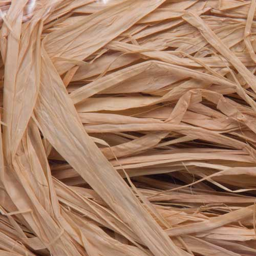 8OZ 100% NATURAL RAFFIA RIBBON