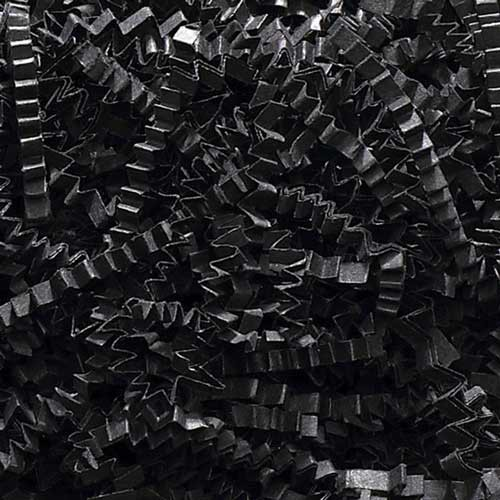10lb. SPRING-FILL BLACK CRINKLE CUT PAPER SHRED