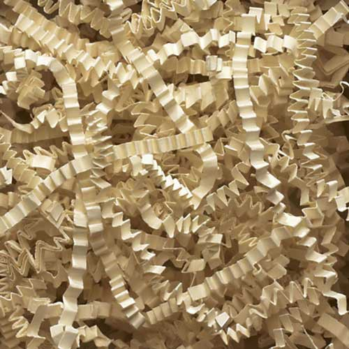 10lb. SPRING-FILL IVORY CRINKLE CUT PAPER SHRED