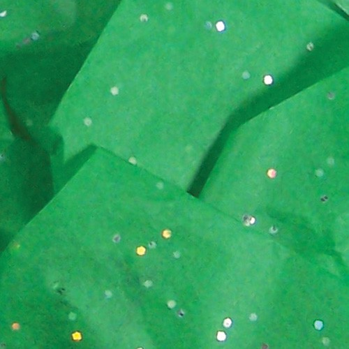 20 x 30 EMERALD GEMSTONE TISSUE PAPER