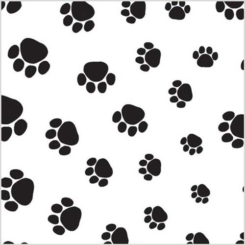 20 x 30 PUPPY PAWS TISSUE PAPER