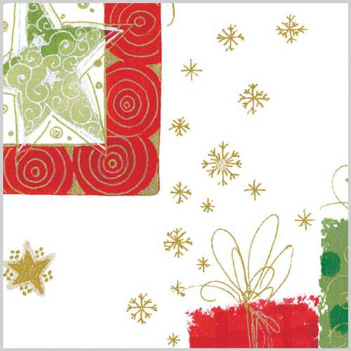 20 x 30 MODERN CHRISTMAS HOLIDAY TISSUE PAPER
