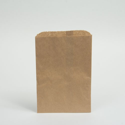 6.25 x 9.25 NATURAL KRAFT PAPER MERCHANDISE BAGS