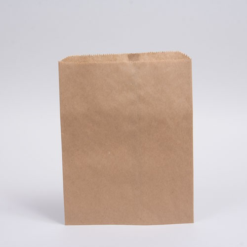8.5 x 11 NATURAL KRAFT PAPER MERCHANDISE BAGS