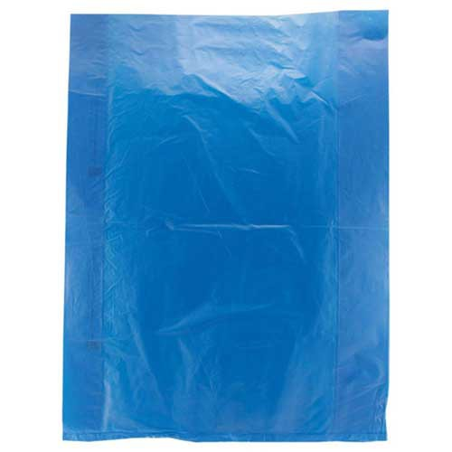 12 x 15 DARK BLUE SATIN HIGH DENSITY PLASTIC BAGS