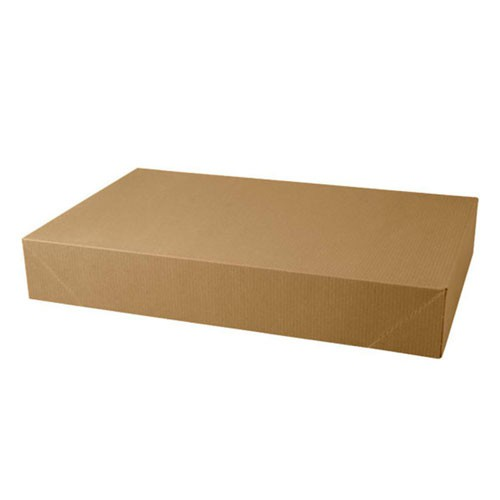 19 x 12 x 3 NATURAL KRAFT APPAREL BOXES