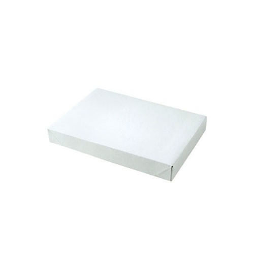 10 x 7 x 1.5 WHITE GLOSS APPAREL BOXES