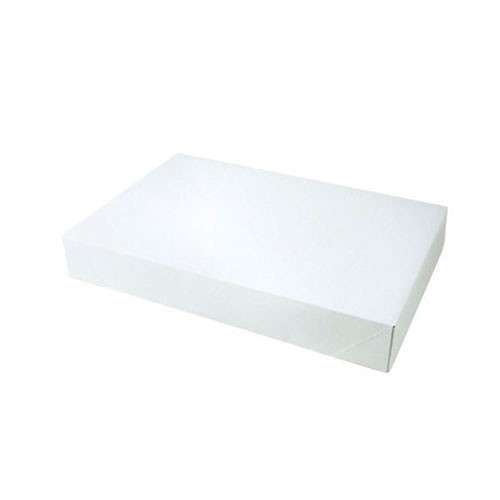 15 x 9.5 x 2 WHITE GLOSS APPAREL BOXES