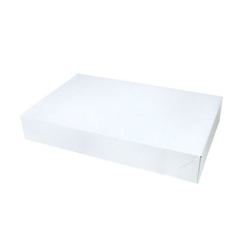19 x 12 x 3 WHITE GLOSS APPAREL BOXES