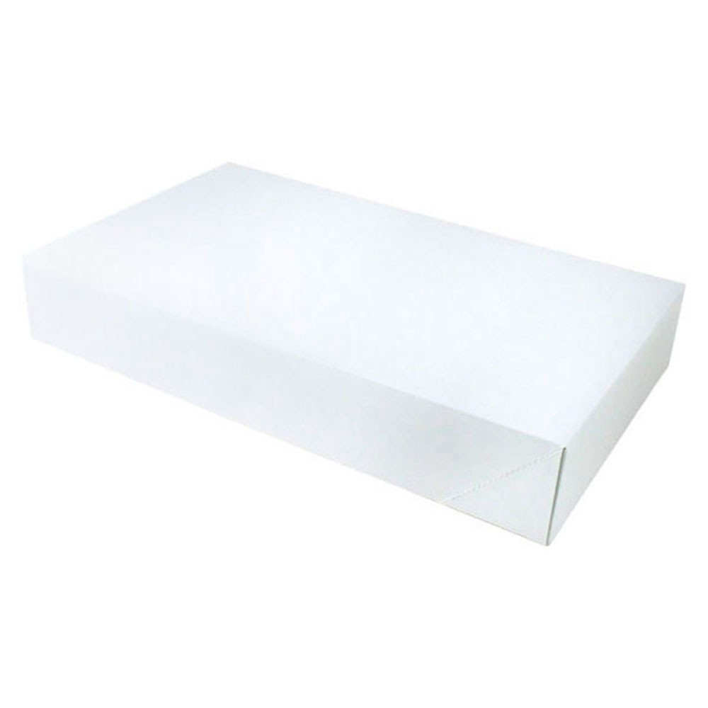 24 x 14 x 4 WHITE GLOSS APPAREL BOXES
