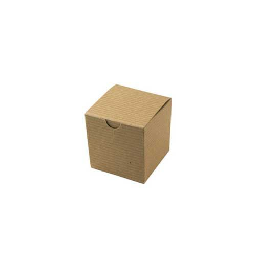 3 x 3 x 3 NATURAL KRAFT TUCK-TOP GIFT BOXES