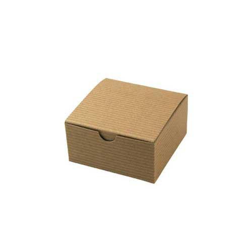 4 x 4 x 2 NATURAL KRAFT TUCK-TOP GIFT BOXES