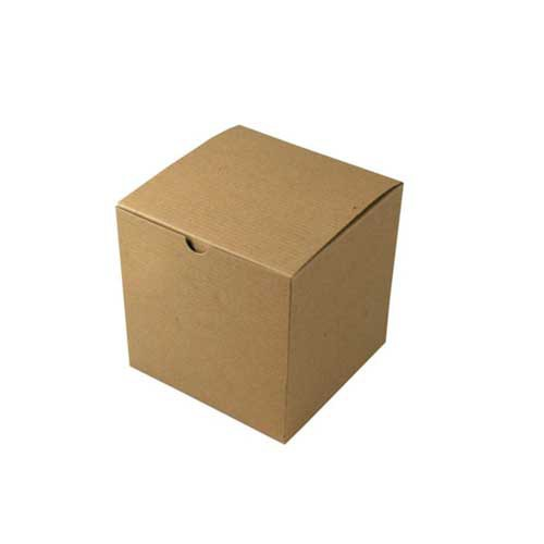 6 x 6 x 6 NATURAL KRAFT TUCK-TOP GIFT BOXES