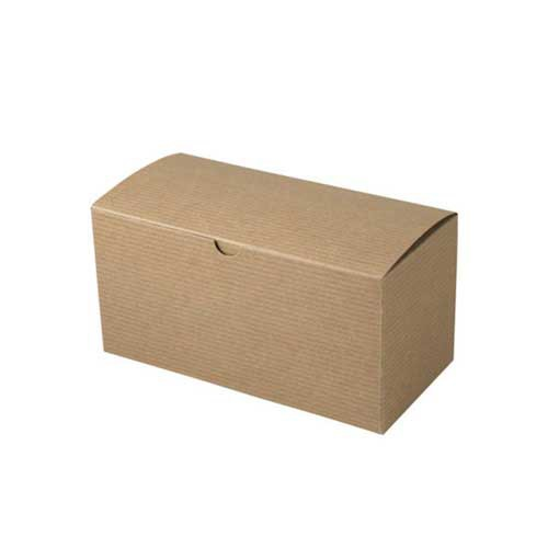 9 x 4.5 x 4.5 NATURAL KRAFT TUCK-TOP GIFT BOXES