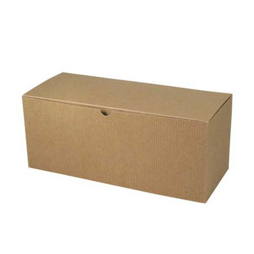 12 x 6 x 6 NATURAL KRAFT TUCK-TOP GIFT BOXES