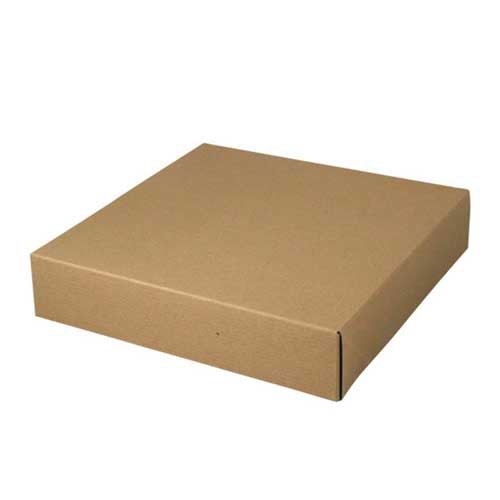 12 x 12 x 2.5 NATURAL KRAFT TWO-PIECE GIFT BOXES