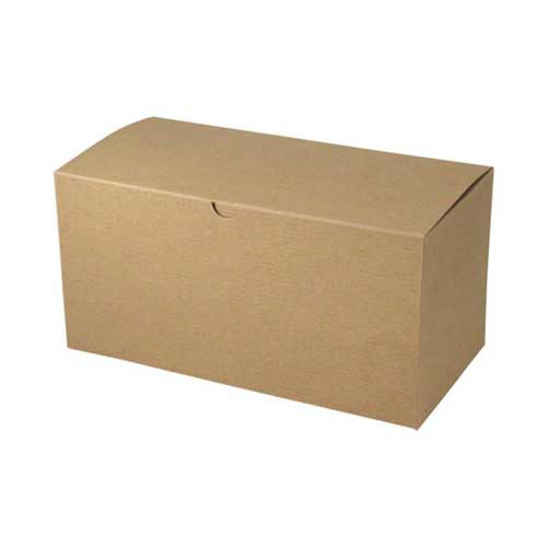 14 x 6 x 6 NATURAL KRAFT TUCK-TOP GIFT BOXES