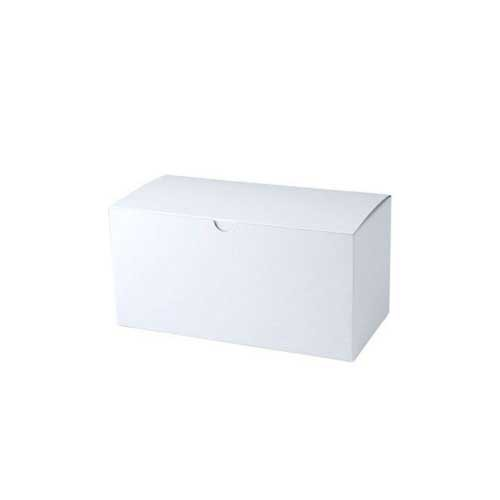 9 x 4.5 x 4.5 WHITE GLOSS TUCK-TOP GIFT BOXES