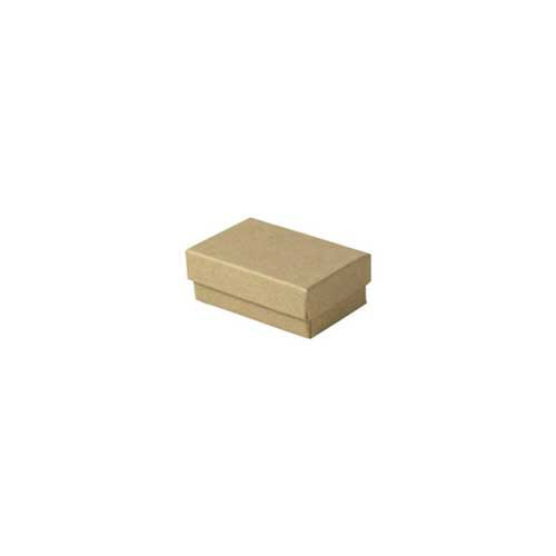 (#21) 2-1/2 x 1-1/2 x 7/8 NATURAL KRAFT JEWELRY BOXES
