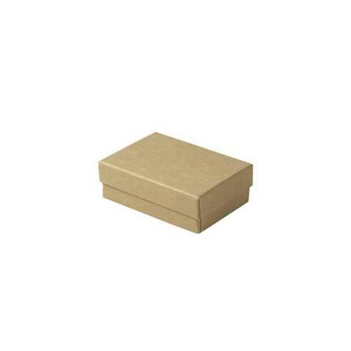 (#32) 3-1/16 x 2-1/8 x 1 NATURAL KRAFT JEWELRY BOXES