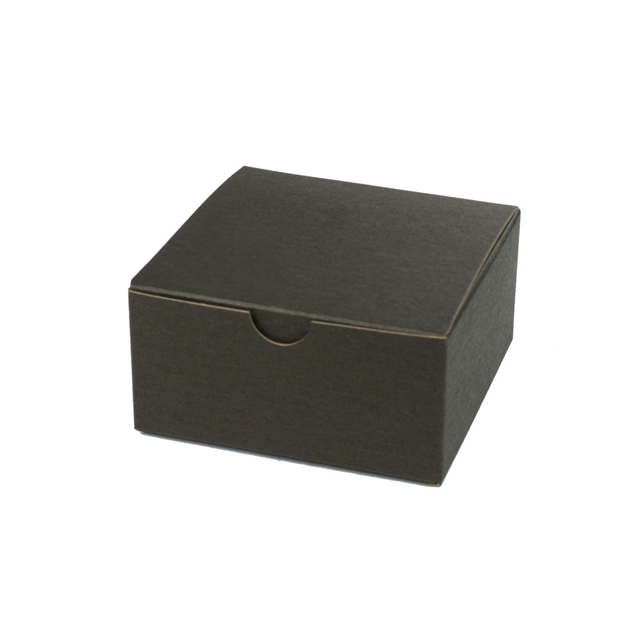 4 x 4 x 2 BLACK PINSTRIPE TUCK-TOP GIFT BOXES