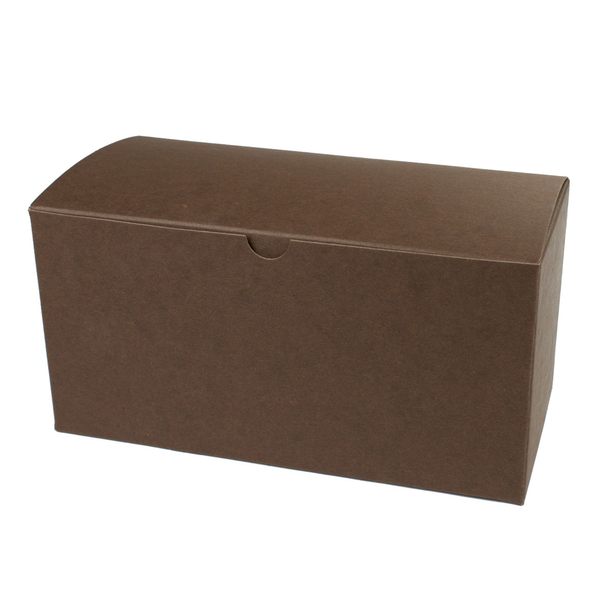 9 x 4.5 x 4.5 COCOA TINTED TUCK-TOP GIFT BOXES