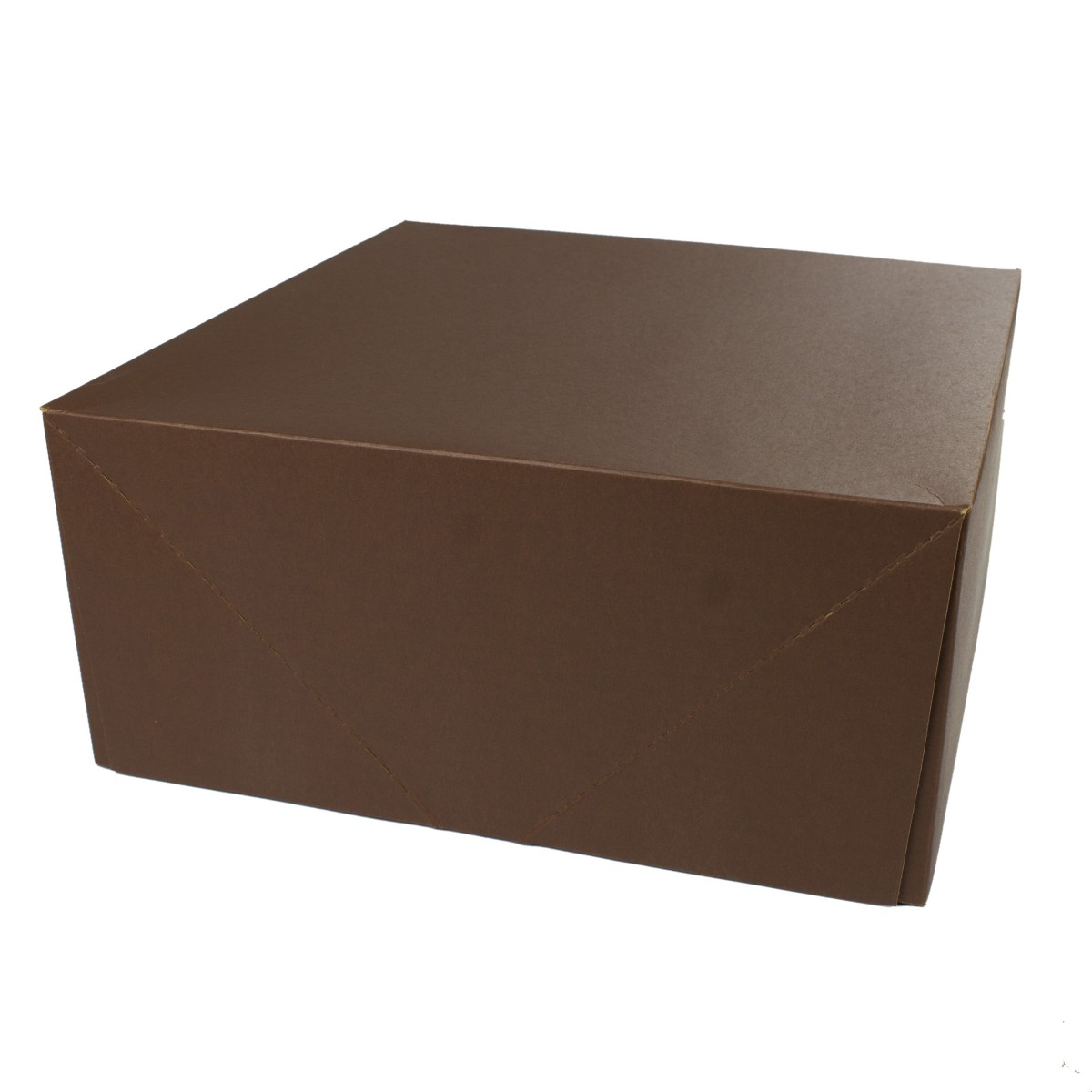 12 x 12 x 5.5 COCOA TINTED TWO-PIECE GIFT BOXES