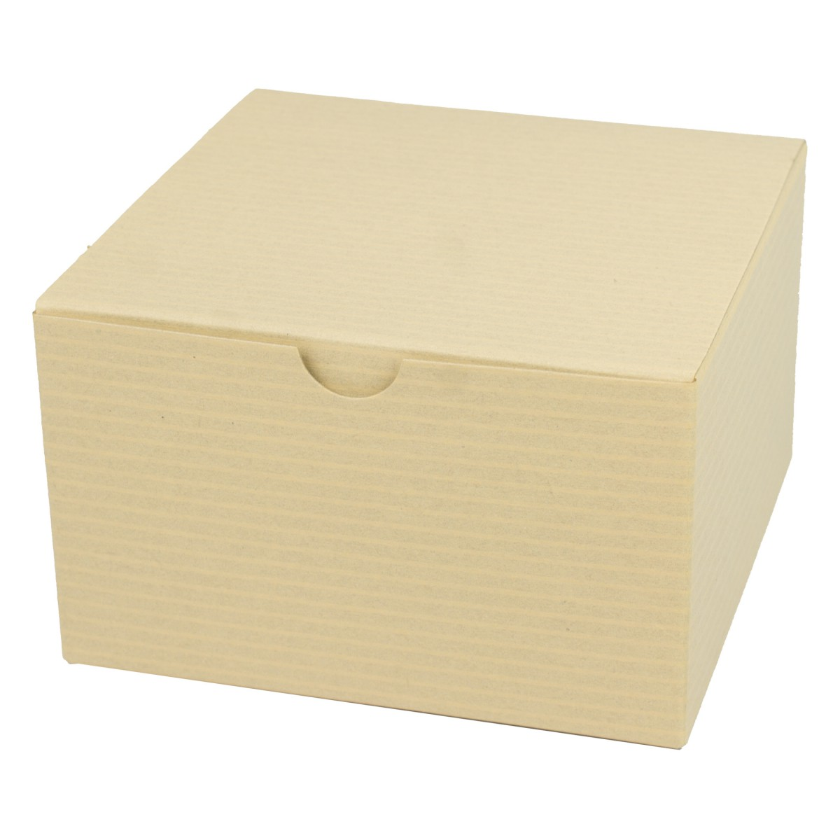 5 x 5 x 3 OATMEAL TINTED TUCK-TOP GIFT BOXES