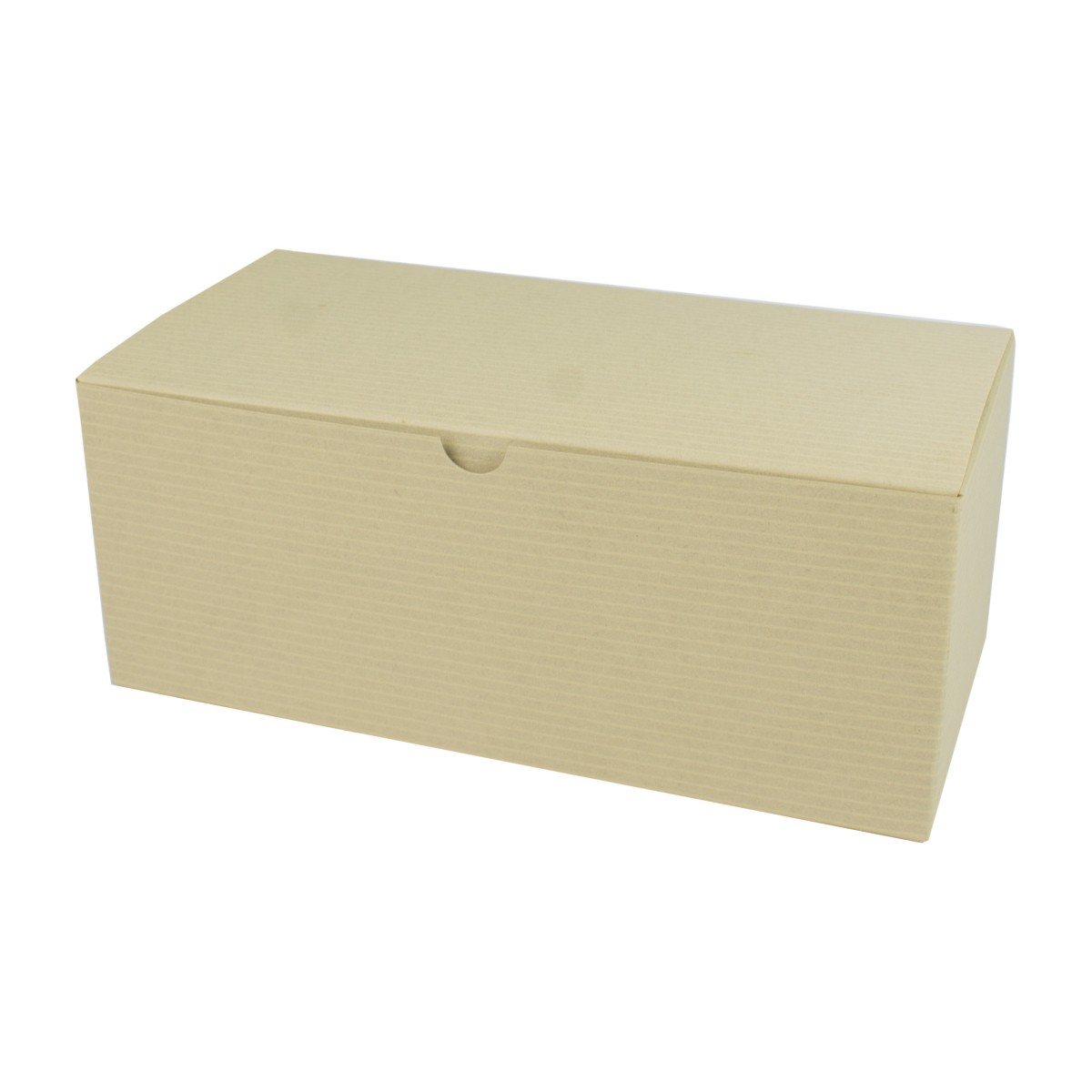 10 x 5 x 4 OATMEAL TINTED TUCK-TOP GIFT BOXES