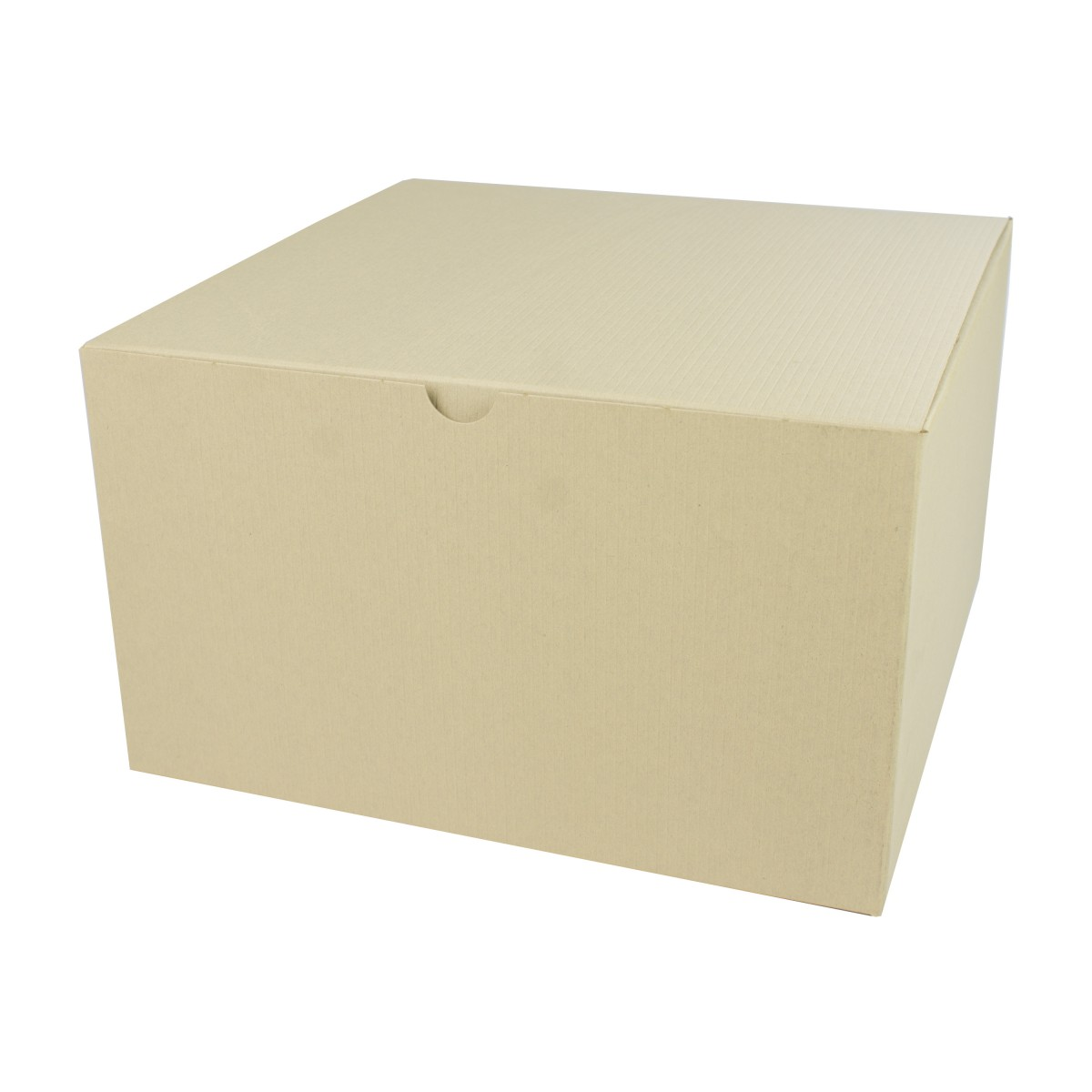 10 x 10 x 6 OATMEAL TINTED TUCK-TOP GIFT BOXES
