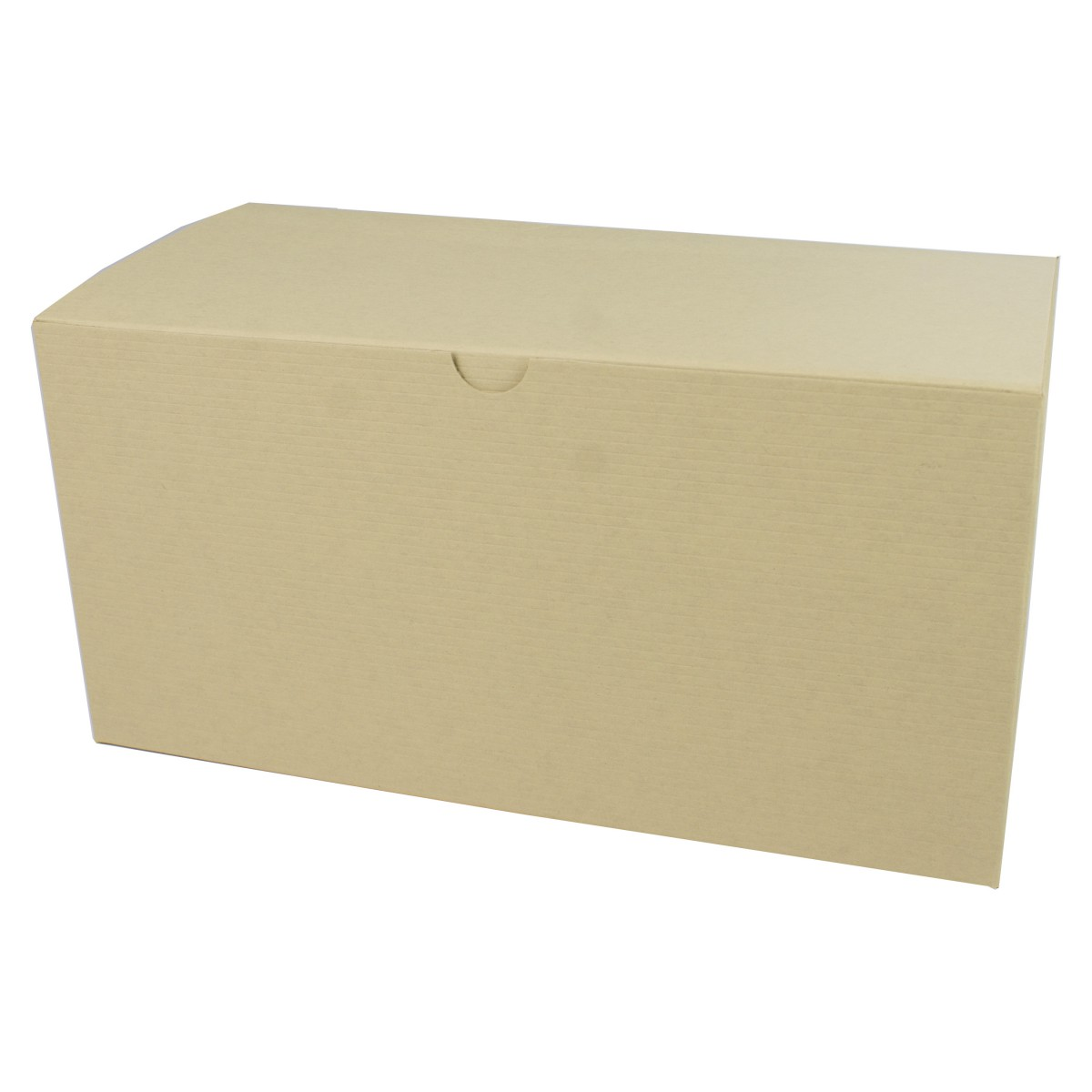 12 x 6 x 6 OATMEAL TINTED TUCK-TOP GIFT BOXES