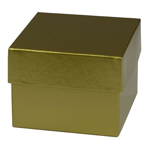 4 x 4 x 3 GOLD HI-WALL GIFT BOX BASES