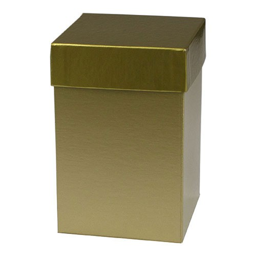 4 x 4 x 6 GOLD HI-WALL GIFT BOX BASES
