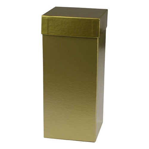 4 x 4 x 9 GOLD HI-WALL GIFT BOX BASES