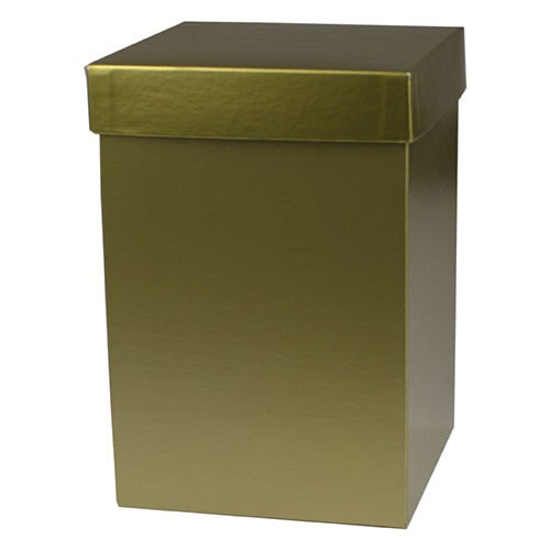 6 x 6 x 6 GOLD HI-WALL GIFT BOX BASES