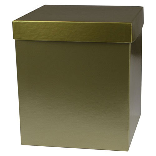 8 x 8 x 9 GOLD HI-WALL GIFT BOX BASES