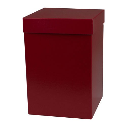 6 x 6 x 9 RED GLOSS HI-WALL GIFT BOX BASES