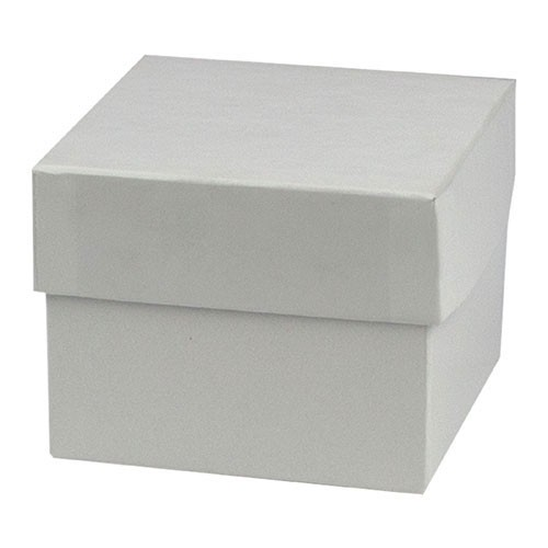 4 x 4 x 3 WHITE GLOSS HI-WALL GIFT BOX BASES