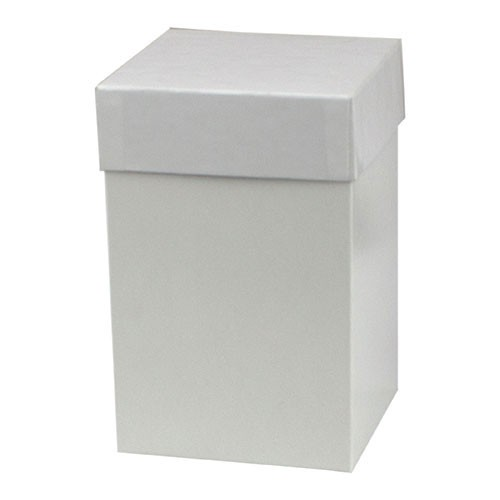 4 x 4 x 6 WHITE GLOSS HI-WALL GIFT BOX BASES