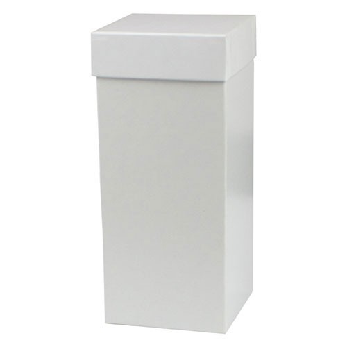 4 x 4 x 9 WHITE GLOSS HI-WALL GIFT BOX BASES
