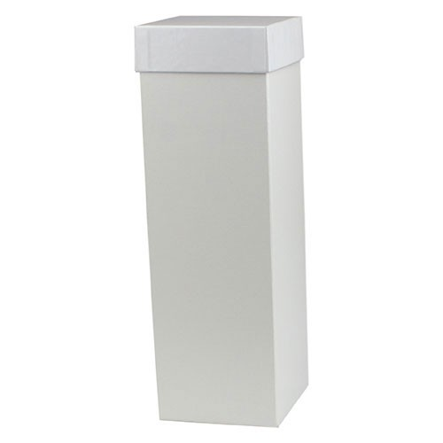 4 x 4 x 12 WHITE GLOSS HI-WALL GIFT BOX BASES