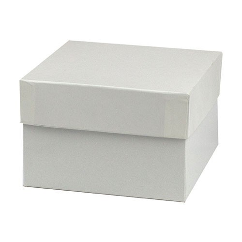 5 x 5 x 3 WHITE GLOSS HI-WALL GIFT BOX BASES