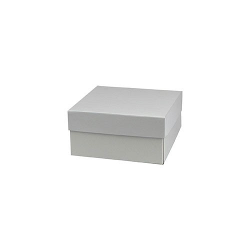 6 x 6 x 3 WHITE GLOSS HI-WALL GIFT BOX BASES