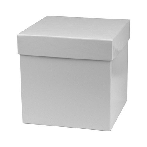 6 x 6 x 6 WHITE GLOSS HI-WALL GIFT BOX BASES