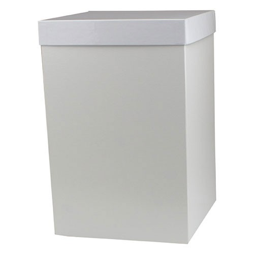 8 x 8 x 12 WHITE GLOSS HI-WALL GIFT BOX BASES