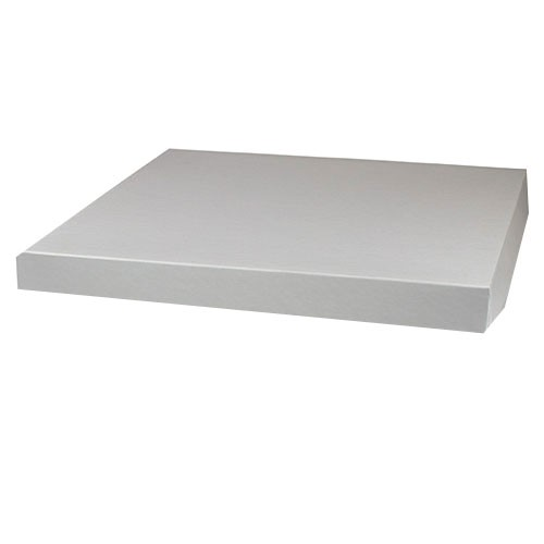 14 x 14 WHITE GLOSS HI-WALL BOX LIDS *BASES SOLD SEPARATELY*
