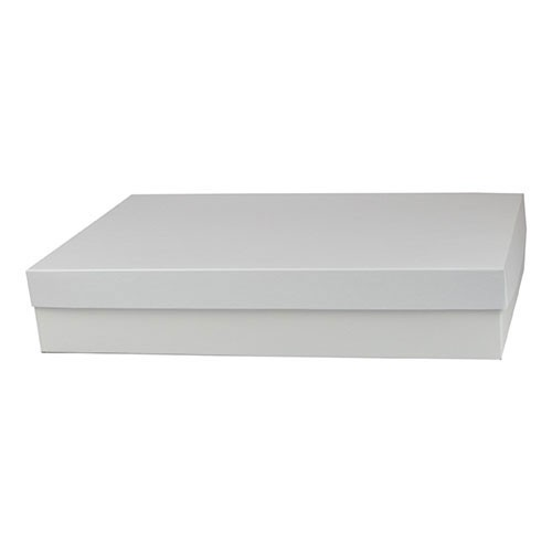 16 x 10 x 3 WHITE GLOSS HI-WALL GIFT BOX BASES