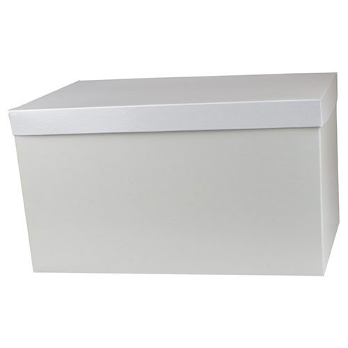 16 x 10 x 6 WHITE GLOSS HI-WALL GIFT BOX BASES