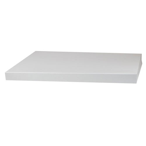19 x 12 WHITE GLOSS HI-WALL BOX LIDS