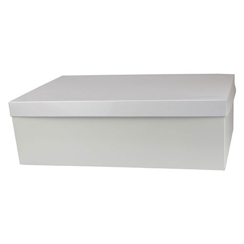 19 x 12 x 6 WHITE GLOSS HI-WALL GIFT BOX BASES